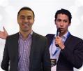 Nabil Berouag und Tarek Elmarhri (Krechendo Trading)