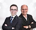 Roland Jegen und Stefan Fröhlich